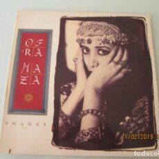 Discos de vinilo: OFRA HAZA ?– SHADAY. Lote 150784230