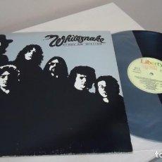 Disques de vinyle: WHITESNAKE- READY AN,WILLING -1980- MADRID - EMI ODEON -. Lote 150794538