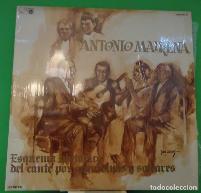 LP ANTONIO MAIRENA – ESQUEMA HISTORICO DEL CANTE POR SEGUIRIYAS Y SOLEARES 2LP (Música - Discos - LP Vinilo - Flamenco, Canción española y Cuplé)