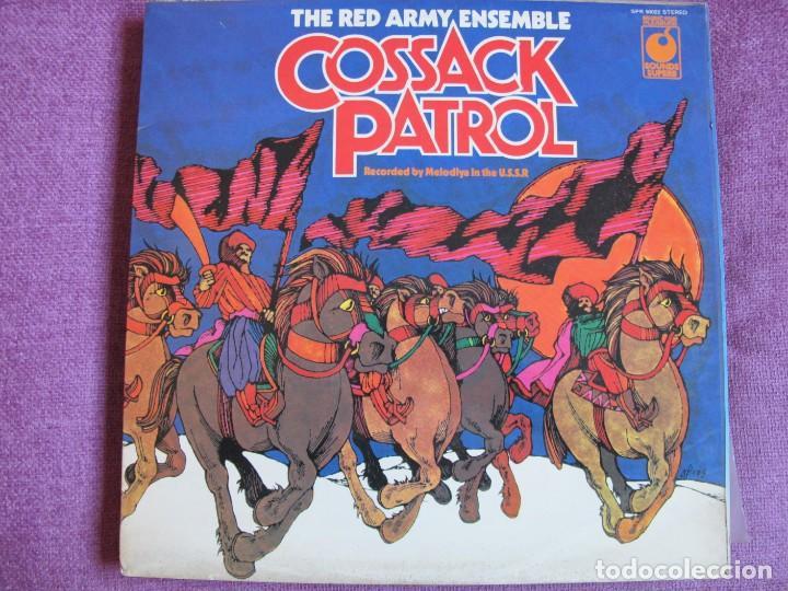 LP - THE RED ARMY ENSEMBLE - COSSACK PATROL (ENGLAND, SOUNDS SUPERB 1966) (Música - Discos - LP Vinilo - Otros estilos)