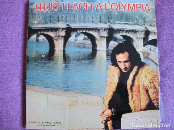 LP - LLUIS LLACH - A L'OLYMPIA (SPAIN, MOVIEPLAY 1973, PORTADA DOBLE) (Música - Discos - LP Vinilo - Solistas Españoles de los 70 a la actualidad)