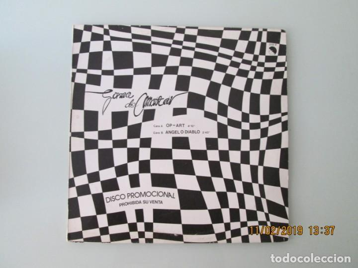 GOMA DE MASCAR ?– OP-ART / ANGEL O DIABLO DISCO PROMOCIONAL (Música - Discos de Vinilo - Maxi Singles - Grupos Españoles de los 70 y 80)