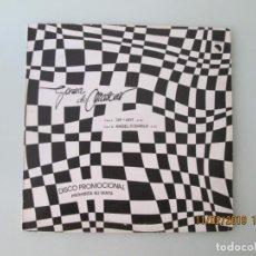 Discos de vinilo: GOMA DE MASCAR – OP-ART / ANGEL O DIABLO DISCO PROMOCIONAL. Lote 150811402