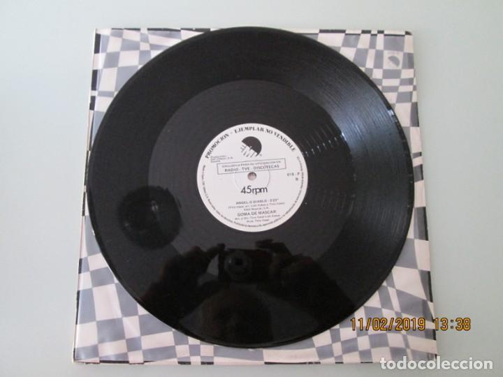 Discos de vinilo: Goma de Mascar ?– Op-Art / Angel O Diablo DISCO PROMOCIONAL - Foto 4 - 150811402