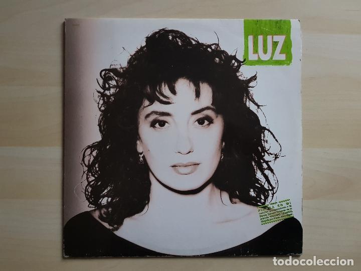 LUZ - A CONTRALUZ - LP - VINILO - HISPAVOX - 1991 (Música - Discos - LP Vinilo - Solistas Españoles de los 70 a la actualidad)