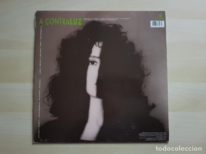 Discos de vinilo: LUZ - A CONTRALUZ - LP - VINILO - HISPAVOX - 1991 - Foto 2 - 150813494