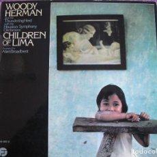 Discos de vinilo: LP - WOODY HERMAN - CHILDREN OF LIMA (SPAIN, FANTASY RECORDS 1975, PORTADA DOBLE). Lote 150813766