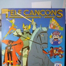Discos de vinilo: LP TELE CANÇONS ( SANDYBELL, ARALE, CAPITA HARLOCK, EL REI ARTUR, DR.SLUMP, ETC ). Lote 150825666