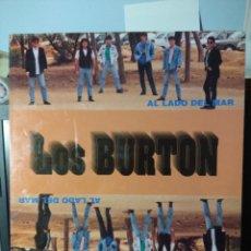 Discos de vinilo: LP LOS BURTON : AL LADO DEL MAR ( GANADORES DEL CONCURSO CANYA'N'ROLL TARRAGONA . Lote 150828694