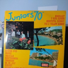 Discos de vinilo: LP JUNIORS 70 : CHARLY, AMARILLO, TOMORROW, OH OH JULY, CABARET, MAGALLUF, ETC. Lote 150830478