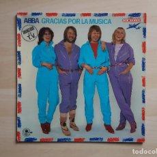 Disques de vinyle: ABBA - GRACIAS POR LA MÚSICA - LP - VINILO - COLUMBIA - 1980. Lote 150831374