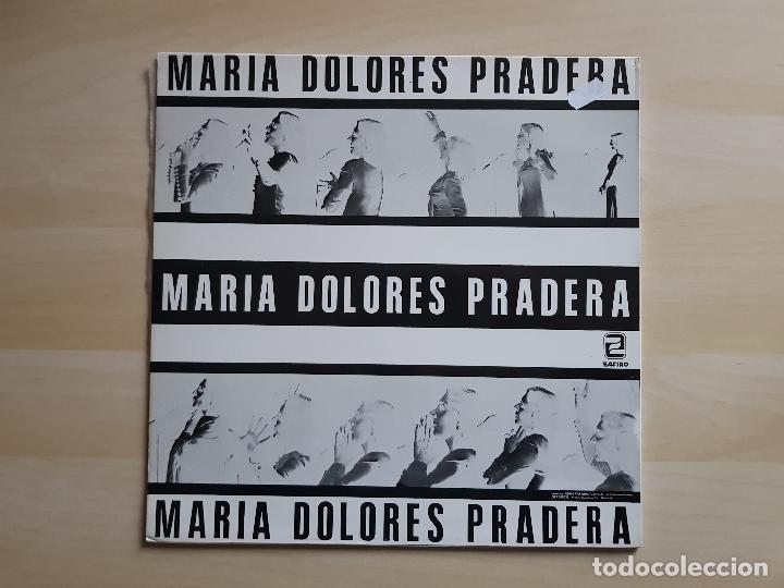 Discos de vinilo: MARIA DOLORES PRADERA - LP - VINILO - ZAFIRO - 1983 - Foto 2 - 150832358