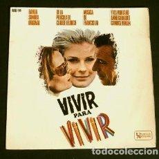 Discos de vinilo: VIVIR PARA VIVIR (EP 1967) BSO ORIGINAL - FRANCIS LAI - IVES MONTAND - DIRECTOR CLAUDE LELOUCH. Lote 150838978