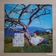 Discos de vinilo: CARLOS FAGOAGA - CANCIONES VASCAS - LP - VINILO - COLUMBIA - 1971. Lote 150842154