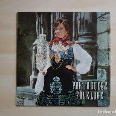 Discos de vinilo: PORTUGUESE FOLKLORE - LP - VINILO - RAPSODIA. Lote 150842330