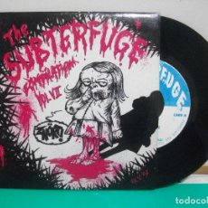 Discos de vinilo: THE SUBTERFUGE COMPILATION VOL VII - HEBRIDAS + LEMINGS + BIG CRUNCH + AUSTRALIAN BLONDE - 1993 EP. Lote 150844226