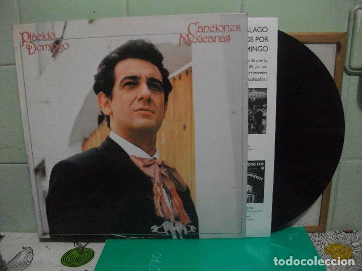 PLACIDO DOMINGO (LP) CANCIONES MEXICANAS AÑO 1982 NUEVO¡¡ (Música - Discos - LP Vinilo - Clásica, Ópera, Zarzuela y Marchas)