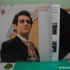 Discos de vinilo: PLACIDO DOMINGO (LP) CANCIONES MEXICANAS AÑO 1982 NUEVO¡¡. Lote 150845538