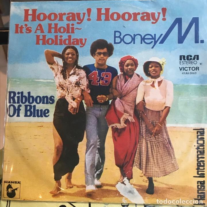 SENCILLO ARGENTINO DE BONEY M AÑO 1979 (Música - Discos - Singles Vinilo - Disco y Dance)