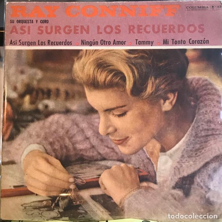 Discos de vinilo: Dos EPs argentinos de Ray Conniff con su orquesta y coro - Foto 3 - 26755286
