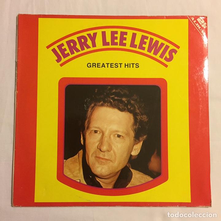 Discos de vinilo: JERRY LEE LEWIS - GREATEST HITS, LP DOBLE GATEFOLD, RECOPILATORIO, EUROPA - Foto 2 - 150851606