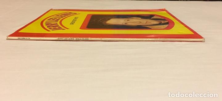 Discos de vinilo: JERRY LEE LEWIS - GREATEST HITS, LP DOBLE GATEFOLD, RECOPILATORIO, EUROPA - Foto 6 - 150851606