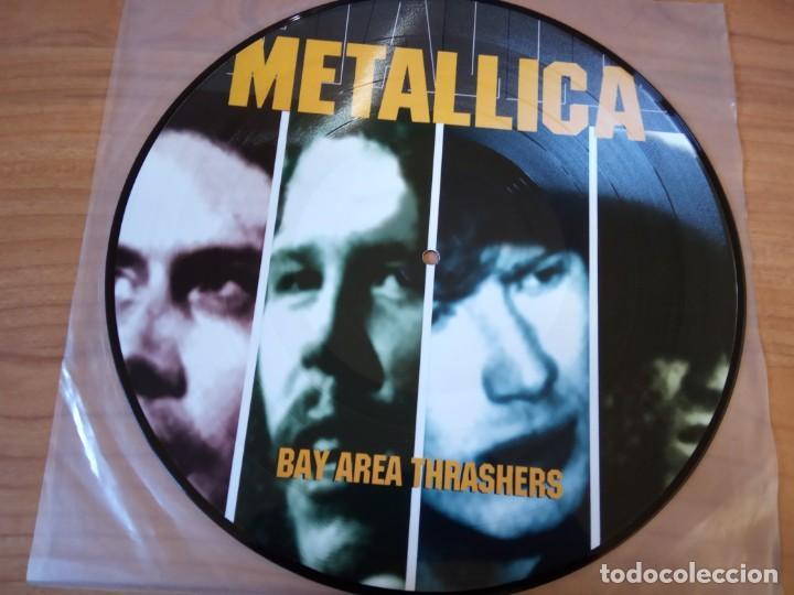 METALLICA-BAY AREA TRASHERS (Música - Discos de Vinilo - Maxi Singles - Heavy - Metal)