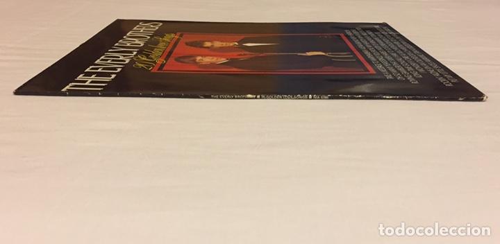 Discos de vinilo: THE EVERLY BROTHERS - 20 GOLDEN LOVE SONGS LP, RECOPILATORIO, AZUL, 1979, HOLANDA, MUY RARO!!! - Foto 4 - 150851754