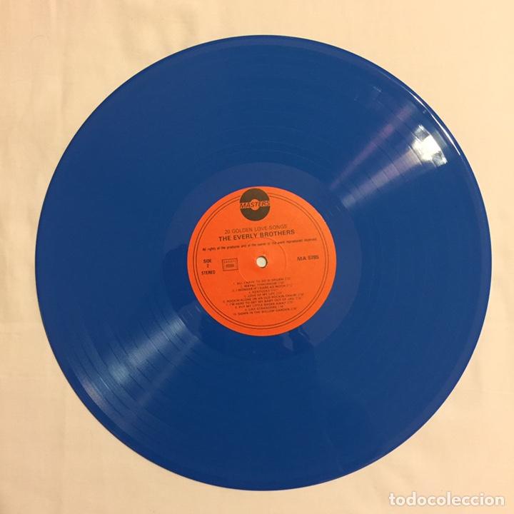Discos de vinilo: THE EVERLY BROTHERS - 20 GOLDEN LOVE SONGS LP, RECOPILATORIO, AZUL, 1979, HOLANDA, MUY RARO!!! - Foto 6 - 150851754