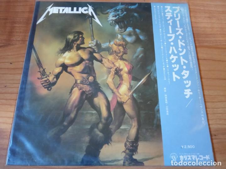 METALLICA-LIVE JAPON (Música - Discos de Vinilo - EPs - Heavy - Metal)