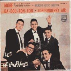 Discos de vinilo: LOS RELAMPAGOS / DA-DOU-RON-RON + 3 (EP 1963). Lote 150885742