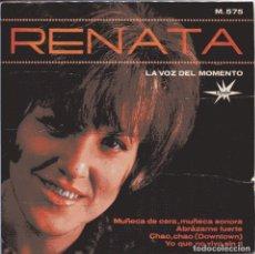 Discos de vinilo: RENATA / CHAO, CHACO + 3 (EP 1965). Lote 150891450