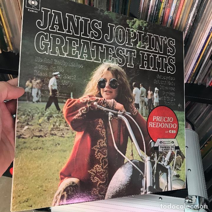 JANIS JOPLIN  JANIS JOPLIN S GREATEST HITS 1973 (Música - Discos - LP Vinilo - Pop - Rock - Extranjero de los 70)