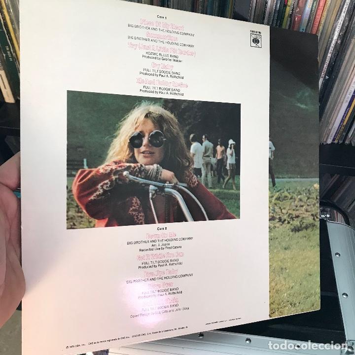 Discos de vinilo: Janis Joplin  Janis Joplin s Greatest Hits 1973 - Foto 2 - 150928514
