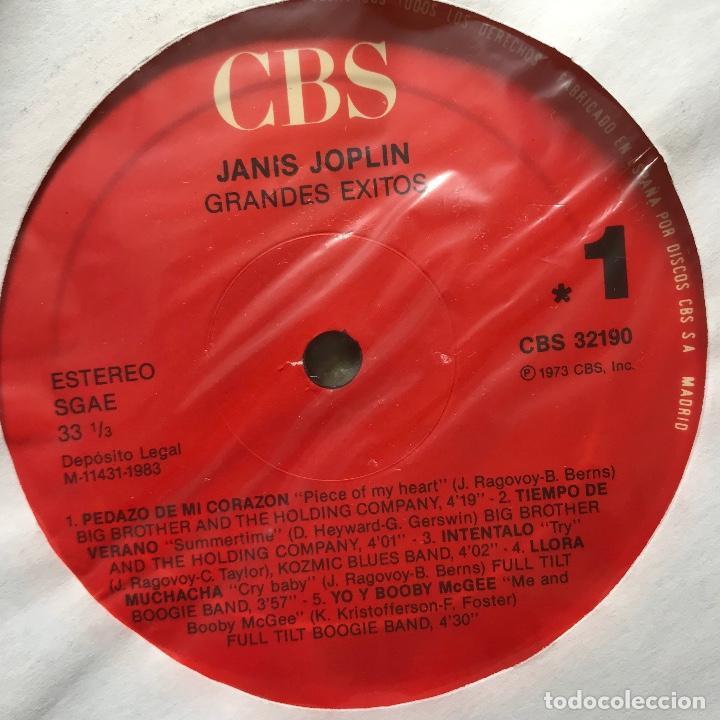Discos de vinilo: Janis Joplin  Janis Joplin s Greatest Hits 1973 - Foto 3 - 150928514