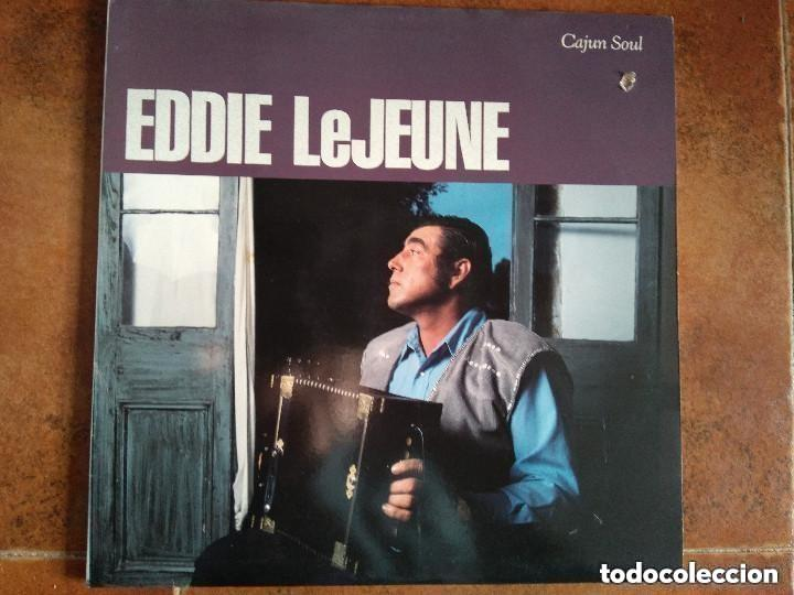 EDDIE LEJEUNE - CAJUN SOUL (LP) 1988 (Música - Discos - LP Vinilo - Country y Folk)