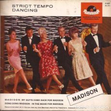 Discos de vinilo: EP HORST WENDE STRICT TEMPO DANCING MADISON POLYDOR 21607 GERMANY. Lote 150932454