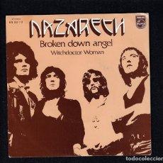 Discos de vinilo: NAZARETH: SINGEL NUEVO- SELLO PROMOCIONAL-MUSICA HEAVY METAL. Lote 150932734