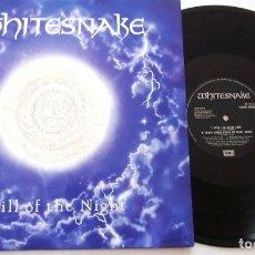 Discos de vinilo: WHITESNAKE - STILL OF THE NIGHT 1987, RARA LIMT 1ª EDIC ORG UK ( 3 TEMAS ) EXC. Lote 150947194