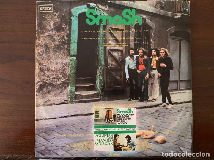 Discos de vinilo: Smash – Ni Recuerdo, Ni Olvido - Partes 1 Y 2 Sello: Chapa Discos – MH-36003 Formato: Vinyl, 12 - Foto 2 - 150947898