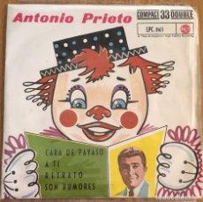 Discos de vinilo: ANTONIO PRIETO EP 1962 EDIC ESPAÑA BUENA CONSERVACION. Lote 150954622