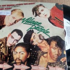 Discos de vinilo: SINGLE (VINILO)-PROMOCION- DE VILLAGE PEOPLE AÑOS 80. Lote 150957798