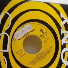 Discos de vinilo: SINGLE (VINILO)-PROMOCION- DE THE BROTHERS FOUR AÑOS 90. Lote 150958202