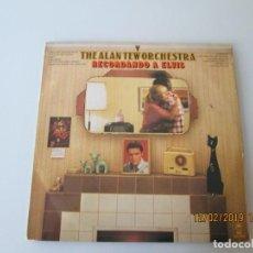 Discos de vinilo: THE ALAN TEW ORCHESTRA RECORDANDO A ELVIS. Lote 150965394