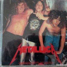 Discos de vinilo: METALLICA-GARAGE DAIS REVISORES LL. Lote 150965910