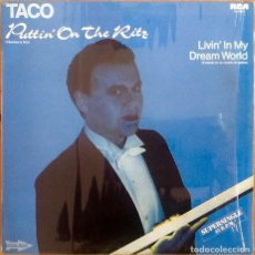 Discos de vinilo: TACO : PUTTIN' ON THE RITZ [ESP 1982] 12'. Lote 150966966