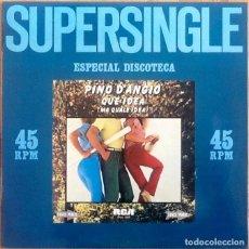Discos de vinilo: PINO D'ANGIO : QUE IDEA (MA QUALE IDEA) [ESP 1981] 12'. Lote 150967542