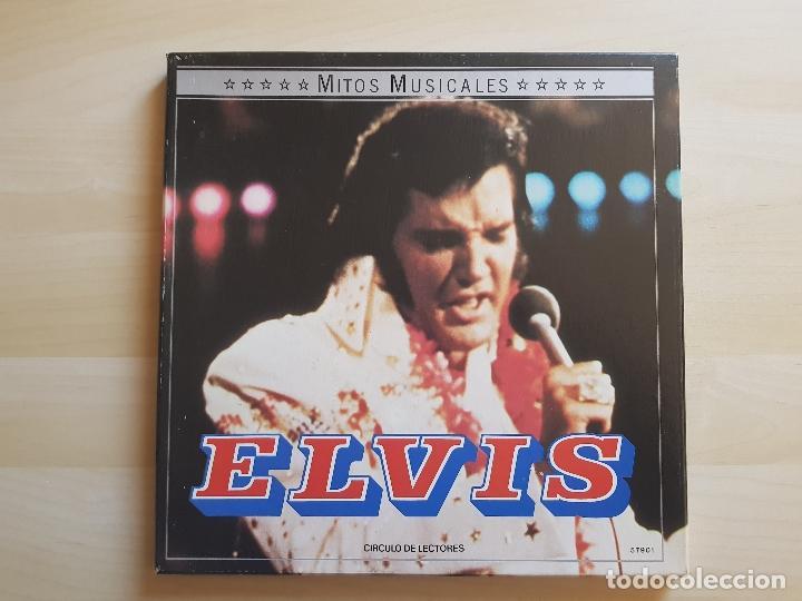 ELVIS PRESLEY - MITOS MUSICALES - LP - DOBLE VINILO - BOX - VICTOR - RCA - 1971 (Música - Discos - LP Vinilo - Pop - Rock - Extranjero de los 70)