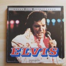 Discos de vinilo: ELVIS PRESLEY - MITOS MUSICALES - LP - DOBLE VINILO - BOX - VICTOR - RCA - 1971. Lote 150973442