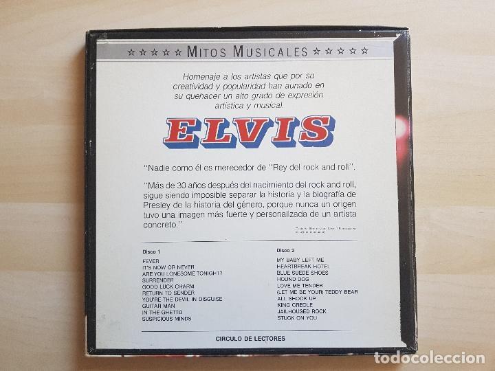 Discos de vinilo: ELVIS PRESLEY - MITOS MUSICALES - LP - DOBLE VINILO - BOX - VICTOR - RCA - 1971 - Foto 2 - 150973442